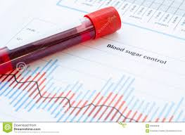 Blood Collection Tubes And Tests Chart Sample Blood For Screening Diabetic Test Stock Photo