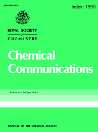 Front cover - Journal of the Chemical Society, Chemical ...