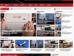 Website Template Newspaper 25 Best Free Responsive Magazine Wordpress Themes 2019