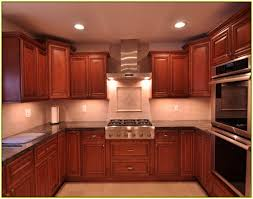 decor kitchen backsplash cherry cabinets kitchen tile backsplash with cherry cabinets home design