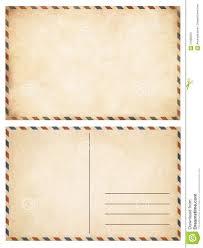 Vintage Postcards Templates Old Postcards Set Stock Image Image Of Aged Postal 57689323