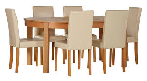 walnut children s tables and chairs at argos co uk your home woodbury oval ext table and 6 chairs
