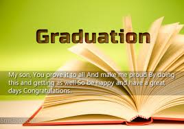 Graduation Quotes For Son Custom Graduation Wishes Message For My Son Quotes For Son