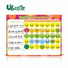 Chart For Kids Creative Magnetic Products Kids Schedule Organized Weekly Planner Reward Chart Buy Kids Daily Reward Chore Chart Personalized Kids Chart Product On