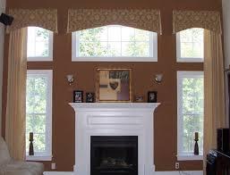 Wood Window Treatments Ideas Shade Tree Interiors Handling 2 Story Windows With Center Window
