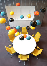 Open Office Design Mesmerizing Break Out Space Lights R Used As Focal Point Light Would Be