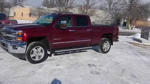2015 Chevrolet 2500 Leveling Kit Before and After - YouTube