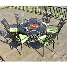 china cast aluminum outdoor garden bbq barbecue grill round table set china outdoor garden barbecure set cast aluminum table set with barbecue grill
