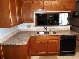 creme caramel granite 6040 sink half bull nose edge 2x4 kitchen ideas with granite countertops