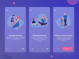 Mental Health Design Guidelines Mental Health App Onboarding By Will Morrissey On Dribbble