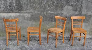 set of vintage bentwood chairs