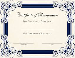 free templates for certificates of appreciation free sample certificate of appreciation fresh certificate