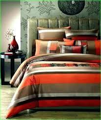 orange and gray bedding orange and gray bedding pink and brown bedding set chocolate burnt orange