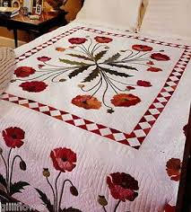 Best 25+ Vintage quilts patterns ideas on Pinterest | Vintage ... & vintage applique quilt patterns | APPLIQUE PATTERN POPPY QUILT Â« FREE  Knitting PATTERNS Adamdwight.com