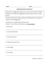 Personification Worksheets 6Th Grade Simile Metaphor ...