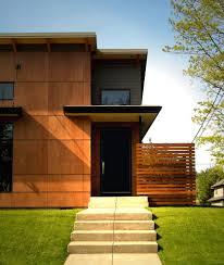 exterior wood fences. decorative wood fence ideas exterior contemporary with flat roof horizontal slat fenc fences a