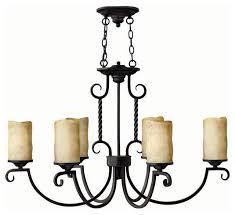 hinkley lighting 3508ol casa oval 6 light chandelier