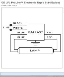 this ge rs wont light both sockets changed out below is the diagram for the 140rs120 ballast it needs to be wired as shown for a single lamp