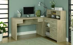 corner furniture piece. Furniture, Handsome Natural Corner Home Office Desk Spacious Work Surface With Matching File Cabinet And Furniture Piece B