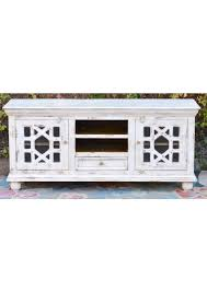 white glass door french provincial entertainment unit