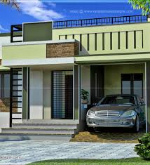 Small Picture Single Floor 4 Bedroom Home With Courtyard House Design Plans