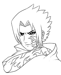 easy naruto drawing book challenge startling anime coloring pages for