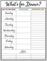 weekly meal planning for two weekly meal plan printable week 9 weekly meal plans weekly