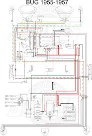 vw tech article 1955 57 wiring diagram 1971 volkswagen beetle wiring diagram at Vw Beetle Wiring Diagram 1971