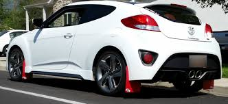 hyundai veloster 2015 white. 1214 hyundai veloster rokblokz rally mud flaps stock suspension 2015 white