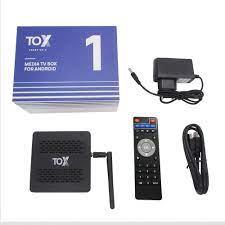 2021 TOX1 Amlogic S905X3 Smart Android 9.0 TV Box 4GB RAM 32GB ROM 2.4G 5G  WiFi Bluetooth 1000M LAN USB 3.0 4K HD Set top Box|Set-top Boxes