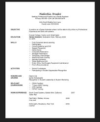 Dental Assistant Resume Objective Entry Level Job Resumes Objective For Resume Dental Assistant 14