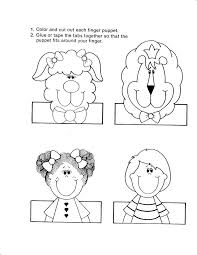 By The Way About Free Finger Puppet Templates Below We Can