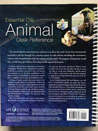 essential oils animal desk reference young living essential oils life science publishing 0724519207520 com books