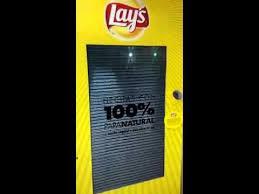 Fresh Chips Vending Machine Enchanting Lays Potato ChipsCrisps Vending Machine YouTube