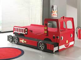 Lit Enfant Camion De Pompier Avec Tiroir Lit Truck L