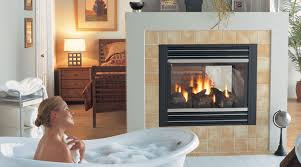 gas fireplaces fireplace throughout 2 sided inspirations 4