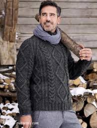 Mens Sweater Knitting Pattern Stunning Men's Pullovers And Sweaters Knitting Patterns