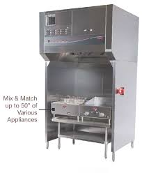 wells ventless universal model wvu 48 can fit 50 inches of cooking equipment