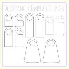 Free Door Hangers Templates Do Not Disturb Sign Template Door Hanger Template Do Not