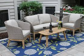 winsome wicker conversation set 16 hampton bay patio sets frs80413 st 64 1000