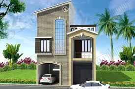 Simplex House Elevation Designs Simplex House Plans Ghar Planner