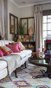but i decided to choose something in the middle and picked the hand tufted berber moroccan diamond rug