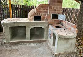 building your own outdoor fireplace outdoor kitchen free plans how to build step by step plans