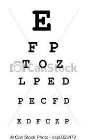 Eye Test C Chart Eye Test Chart