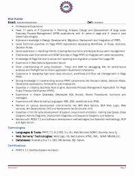 Pega Architect Sample Resume