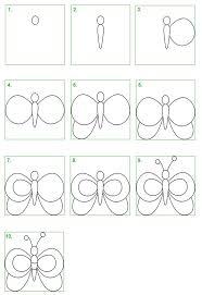 Je zult versteld staan van de grote hoeveelheid gratis kleurplaten disney tekeningen cartoon tekeningen eenvoudig tekeningen haar tekenen prachtige tekeningen realistische tekeningen beroemdheid tekeningen. Schoolwiz Hoe Teken Je Een Vlinder Butterfly Drawing Art Drawings For Kids Drawings
