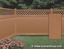 brown vinyl fence. Click Image To Enlarge! Brown Vinyl Fence
