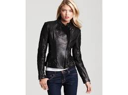 lyst via spiga cropped moto jacket with sching in black
