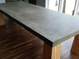 concrete table tops apartment concrete table top concrete table tops diy round concrete table top