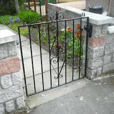 wrought iron garden gates for antique uk old